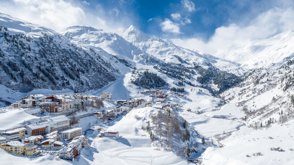 Gurgl im Winter