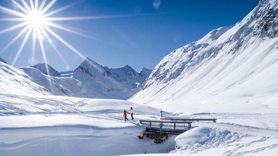 Schönwieshütte im Winter